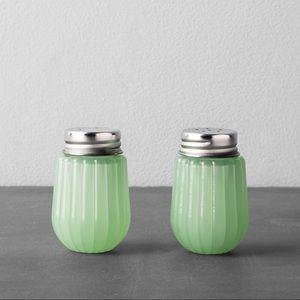 Hearth & Hand W Magnolia Salt Pepper Shakers Green